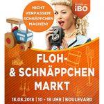 18.08. 2018 Flohmarkt- und Schnäppchenmarkt