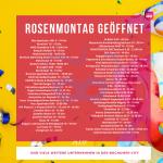 Rosenmontag 2020 Öffnungszeiten Bochum City